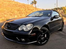 Mercedes CLK 500 All Blacked Out in Oceanside, California