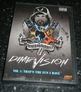 Pantera / Dimebag Darrell DimeVision That's The Fun I Have DVD in Kingwood, Texas