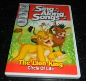 Disney DVD The Lion King Sing Along Songs Circle of Life in Kingwood, Texas