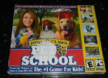 Paws & Claws: Pet School PC Game NEW CD Rom Software in Kingwood, Texas