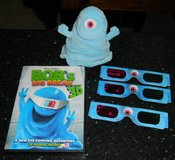 Monsters Vs Aliens Bob's Big Break DVD In 3D W/ Glasses + Plush in Kingwood, Texas