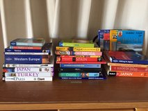 Europe and Asia Travel Books in Okinawa, Japan