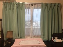 Japanese Curtains in Okinawa, Japan