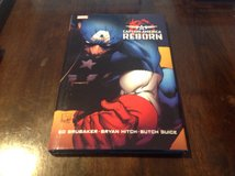 Captain America REBORN Hard Cover 1st Print Tpb NM Condition in Okinawa, Japan