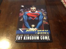 Justice Society of America Thy Kingdom Come Part 1 Hard Cover TPB Nm cond 1st Print in Okinawa, Japan