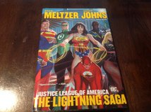 Justice League Of America The Lightning Saga HardCover TPB Nm Cond 1st Print in Okinawa, Japan