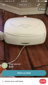 Wipe warmer with refillable pads in Davis-Monthan AFB, Arizona