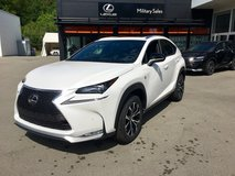2017 Lexus NX 200T F Sport...don't be boring! in Ramstein, Germany