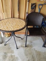Patio table and two chairs in Warner Robins, Georgia
