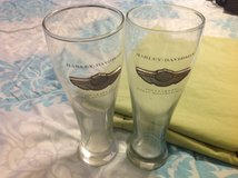 Harley Davidson 2003 100th Anniversary Drinking Glasses in Fairfield, California