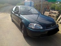 Honda Civic EJ9 1.4l 90HP Manual 5 Speed A/C works perfect Pass the Inspection in Ramstein, Germany