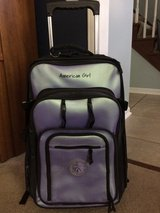 American Girl storage suitcase & backpack in Aurora, Illinois