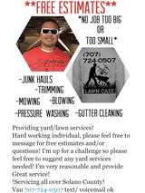 Yard work and more in Travis AFB, California