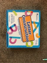 Learning Resources letter construction in Naperville, Illinois