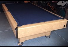 Delivered, Installed, New Cloth, Accessory Kit 8 ft. Kasson Pool Table in Lockport, Illinois