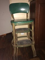 antique bar stool in Coldspring, Texas