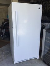 GE Upright Frost-Free Deepfreezer 13.8 Cubic Feet in Travis AFB, California