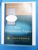 Southworth Gray Parchment 24 lb Paper 500 sheets in Camp Lejeune, North Carolina
