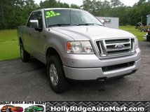 2000 Ford F150 SUPERCAB SXT 4 x 4-UNDER $8000 in Camp Lejeune, North Carolina