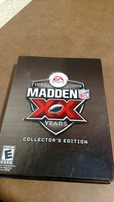 XBOX 360 MADDEN XX Years 1989-2009 Collectors Edition NFL Video Game Collection in Fort Campbell, Kentucky