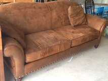 Leather/fabric sofa in Altus, Oklahoma