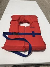Six adult life jackets never used in Ottawa, Illinois