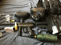 Paintball marker set in Fort Knox, Kentucky