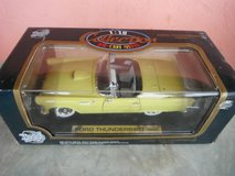 "New in box: 1955 Ford Thunderbird, yellow, ""Road Tough"" 1:18 Die Cast Model in Yucca Valley, California"