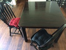 Dining table and 4 chairs in Oceanside, California