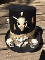 Men's voodoo hat in Alamogordo, New Mexico