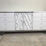 Modern Farmhouse Credenza Dresser Media Center White Mid Century Awesome in Fort Leonard Wood, Missouri