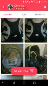 bby bouncer carseat and carrier in Fort Lewis, Washington