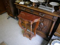 Console with red marble top in Baumholder, GE