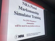 NRA Pistol Marksmanship Simulator Training Class in Columbus, Georgia