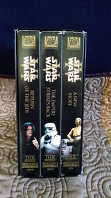Set of (3) Star Wars VHS Tapes, THX Lucasfilm  #2000745 in Lawton, Oklahoma