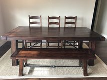 Pottery Barn Benchwright Dining Table in Bellaire, Texas
