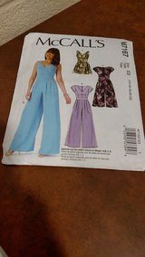 MCCALL'S PATTERNS M7167 MISSES ROMPER AND JUMPSUITS SEWING TEMPLATE, E5 (14-16-18-20-22) (T=40/6) in Fort Campbell, Kentucky