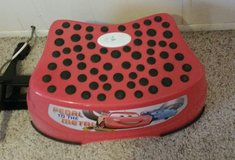 Talking Disney cars stool in Alamogordo, New Mexico