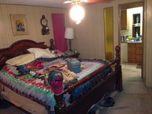 King four post bedroom set in Baytown, Texas