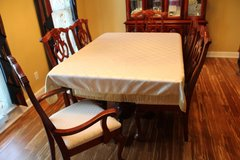Formal Dining Table and China Cabinet in Fort Campbell, Kentucky