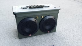 Ammo Can Bluetooth speaker in San Clemente, California