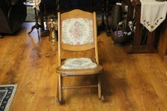Old Folding Rocking Chair in Leesville, Louisiana