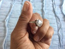 Solitary Silver Ring in Miramar, California