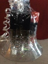 BLACK SUEDE COLOGNE BASKET W/HAIR AND BODY WASH in Fort Bragg, North Carolina
