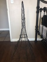 Metal Wired Paris Tower in Yucca Valley, California