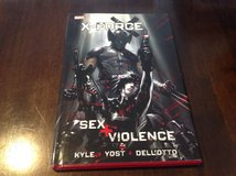X-Force Sex and Violence Hard Cover 1st Print Nm Cond in Okinawa, Japan