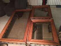 3 pc Coffee table & 2 end Tables in Morris, Illinois
