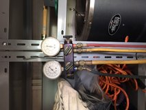 Air Conditioner Servicing Gauges in Okinawa, Japan