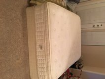 Serta queen mattress with box spring in Bellaire, Texas