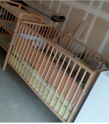 Crib & Changing Table in Travis AFB, California
